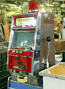 Vintage Non Coin Iga Lighted Skill Slot Machine, Skill Stop Game Man Cave