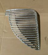 1938 Desoto Grill Passenger Right Side Half And03938 Grille Aluminum