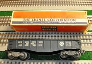 Lionel 6452 Gondola With 6462 Marking On Car With 6452 Box
