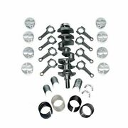 New Forged Scat Rotating Assembly I-beam Rods Fits Ford 351 Main 408 1-94356