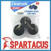 Pack Of 3 Spartacus Sp284 Garden Strimmer Spool And Line Fits Various Models