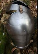X-mas Gorget And Pauldrons Medieval Armour Armor Reenactment Reenactors Role