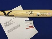 Corey Seager Signed All-star Game Used Victus Baseball Bat Roy Rookie Graph Psa