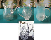Crystal Pitchers Marquis Waterford Baccarat Crystal Dand039arques Block -pick 1