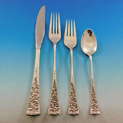 Tapestry By Reed And Barton Sterling Silver Flatware Set Service 24 Pcs Modern