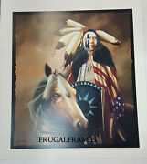 J.d Challenger Ride With Honor Serigraph Signed With Coa
