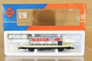 Roco 4321 Db Cargo Flat Wagon With Esso Heizoel Container Load Mint Boxed Nr