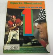 Sports Illustrated Magazine Dec 3, 1973 Bear Bryant Cover Alabama Best For Now