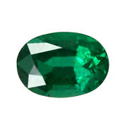 0.76 Ct Zambia Natural Emerald Oval 7 X 5 Mm Loose Gemstone 776_video