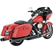 Vance And Hines Hi Output Slip-ons Blk 46759 Exhaust Mufflers / Slip-ons