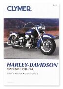 Clymer Publications Manual Hd Panheads 48-65 M418 Shop Manuals And Videos