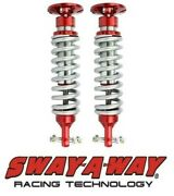 Sway-a-way 2.5 Front Ifp Coilover Kit Pair Fits 07-17 Chevy And Gmc Truck