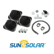 3 Pack Sun2solar Deluxe Above Ground Swimming Pool Solar Heater W/ Bypass Valve