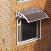 Diy 40 X 30 Outdoor Abs Window Awning White Front Door Canopy Patio Cover Yard