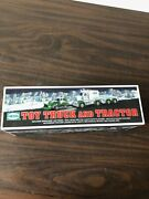 New In Box - 2013 Hess Toy Truck And Tractor