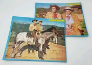 Wild Bill Hickok - Built-rite Stay-n-place Puzzle - New Old Stock - Lot Of 2