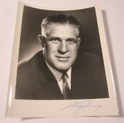 George W. Romney Governor Of Michigan Signed Autographed 8x10 Photo Coa