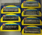 Athearn Napa Valley 8 Freight Cars 3 Boxcar, 3 Tank Cars, 2 Caboose And 2 Engines
