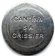 Switzerland Zurich Cantina Sa Crissier Avag Machines Token 24.3mm 5.3g Hh2.7