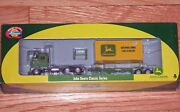 Athearn 7747 Freightliner Tractor With Chassis And 20and039 Container John Deere