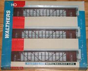 Walthers 932-34102 72' Centerbeam Flat Car 3-pack Union Pacific Up