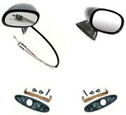Oer L/h Remote Bullet And R/h Bullet Mirror Set With Mounting Hardware