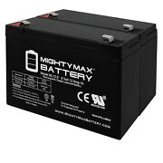 Mighty Max 6v 12ah F2 Battery Replacement For Deltec 3115-650 - 2 Pack