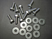 10 Pcs 5/16-18 X 7/8 Fender Under Hood Stainless Steel Bolts Washers Fits Dodge