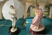 Giuseppe Armani Table Lamp With Shade Florence Capodimonte Pick One