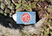 Very Nice Collecting Car Automobile Badge Mg England 1000 Sterling Silver
