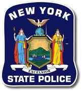 New York State Police Decal Sticker 3m Usa Made Trooper Truck Car Vehicle Window