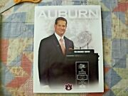 2011 Auburn Tigers Football Media Guide Yearbook 2010 National Champions Program