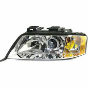 New Hid Head Lamp Assembly Driver Side Fits Audi A6 A4 Quattro Au2502133