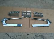1954-1955 Kaiser Grill, 5 Piece Grille. 54-54