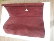 Mercedes Benz 1985 380sl Trunk Carpet Right Side Battery Cover Burgundy Wine