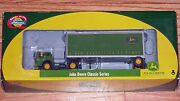 Athearn 8112 Ford C And 28' Wedge Trailer John Deere