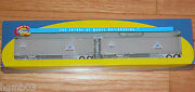 Athearn 73355 45' Smooth Side Z-van Trailers 2 Crab Orchard And Egyptian