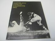 Cleveland Indians 1967 Official Mlb Baseball Yearbook W/ Photos Rocky Colavito