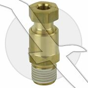 Exhaust Manifold And Engine Block Water Drain Plug Fitting For Mercruiser Volvo
