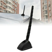 Black Plastic Roof Mount Adhesive Base Aerial Decorative Antenna For Car Suv