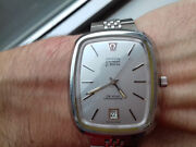 Omega Electronic P.a.n. 1250 Vintage Collection New Ancien Stock Montre Rare