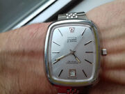 Omega Electronic P. A.n. 1250 Vintage Collection New Old Stock Watch Rare
