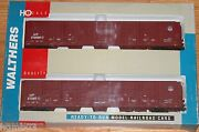 Walthers 932-23534 Pullman Standard 86and039 Hi-cube Boxcar 8 Door 2-pack Mp/up