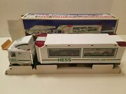 1997-issue Hess Toy Truck And Racers - Mint In Box