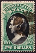 Us O68 2 State Department Official Used Vf Scv 3000
