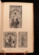 1884 A Book Of Facsimiles Of Monumental Brasses Illustrated W F Creeny First Ed