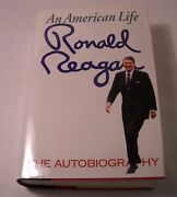 An American Life Signed By Ronald Reagan - 1st Edition - Great Investment B195