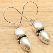 Wholesale Price Silver Plated Real Pearl Earrings New Item Modern Jewellery