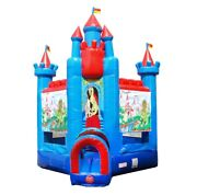 Knight Blow Up Inflatable Bounce House Commercial Jump House Bouncer With Blower