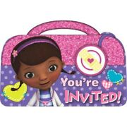 Doc Mcstuffins Invites And Thank You Cards Girls Invitations Party Supply